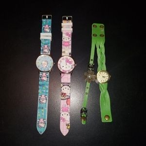 Bundle of 3 kids watches